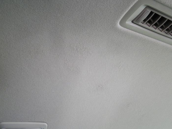 天井 穴と傷 after
